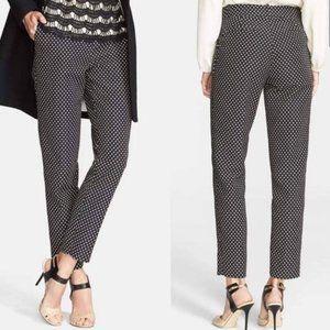 Kate Spade 8 Margaux Polka Dot Dress Pants Trouser